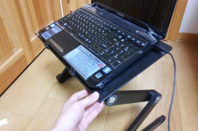 パソコン用折り畳みデスク13