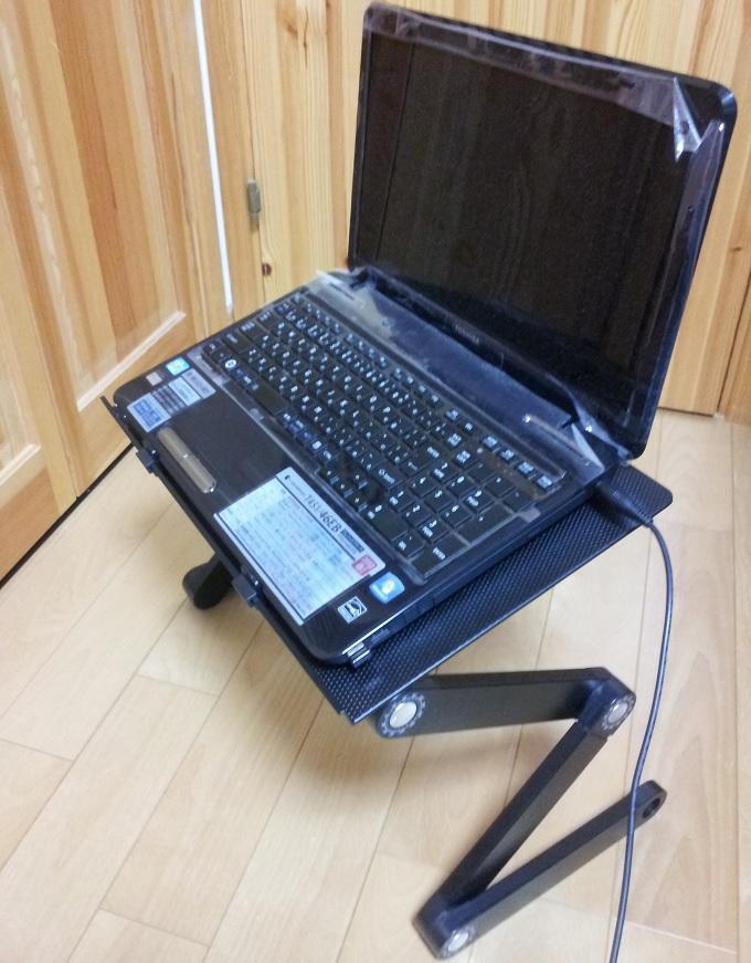 パソコン用折り畳みデスク12