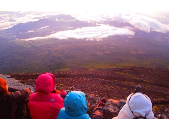 富士山日の出2