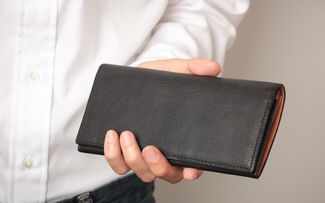 アヤメアンティーコ長財布3の2