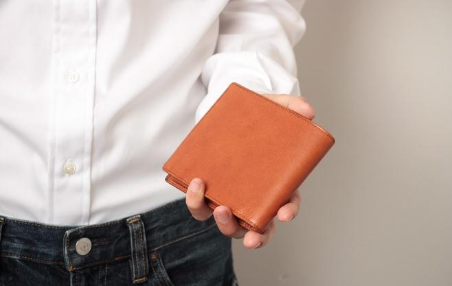 アヤメアンティーコ2つ折り財布3