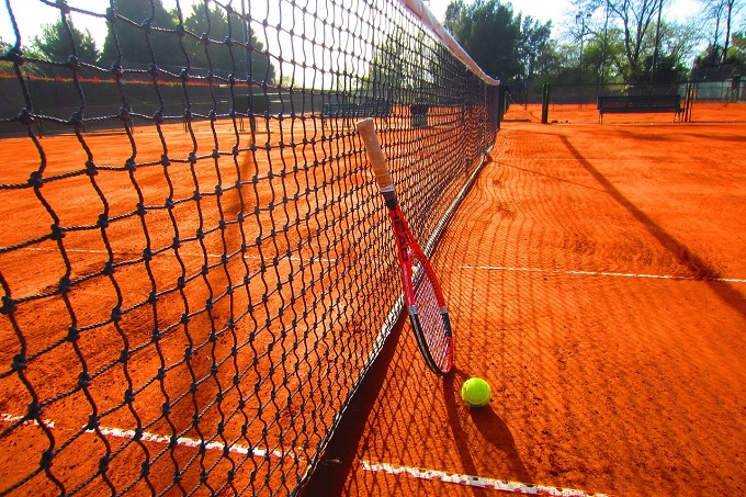 for Dimension filet de tennis