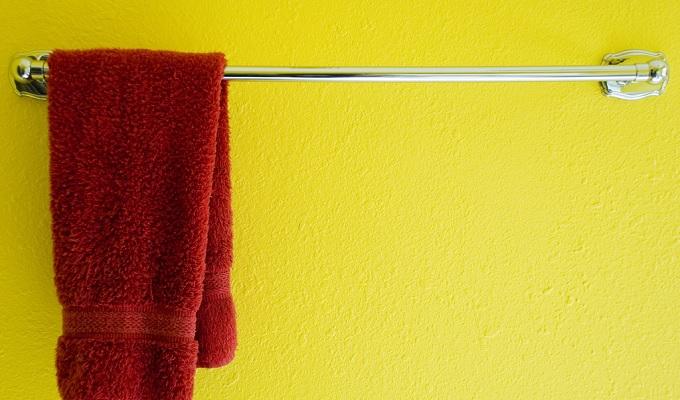 室内湿度タオル