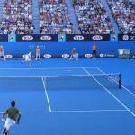 全豪オープン2015のマリア・シャラポワ対ユージェニー・ブシャール。試合結果(勝敗)、スコア(得点)について。