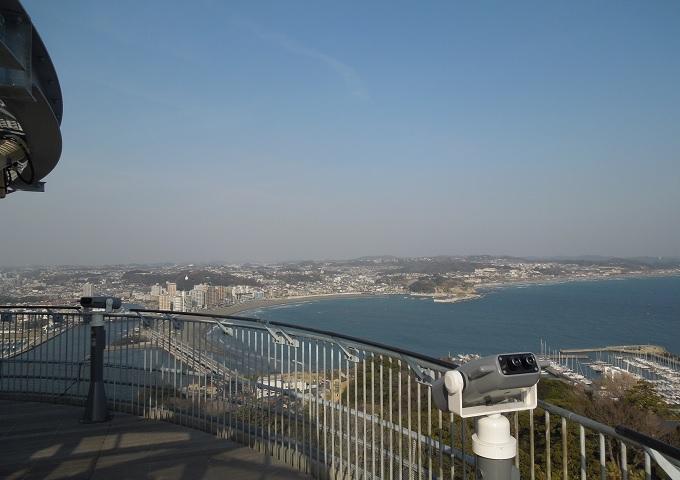 江ノ島デートのジンクスシーキャンドルからの眺め