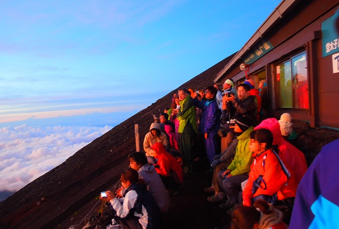 富士山日の出1