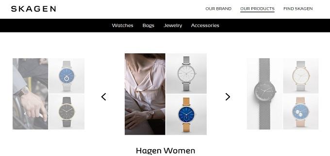 ココウユスカーゲン腕時計クリスマスプレゼント