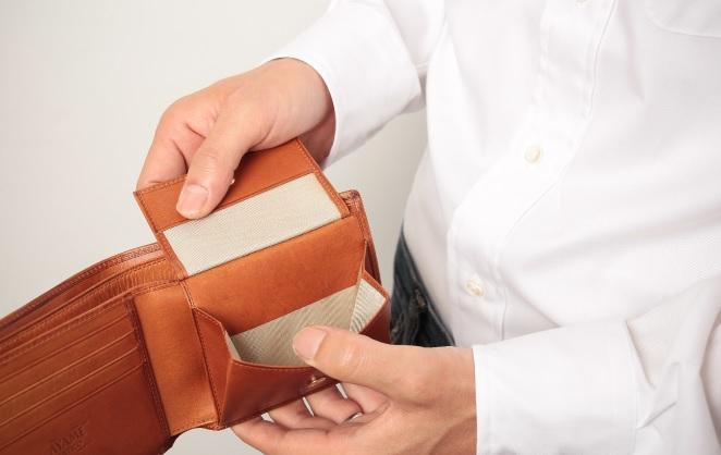 アヤメアンティーコ2つ折り財布2