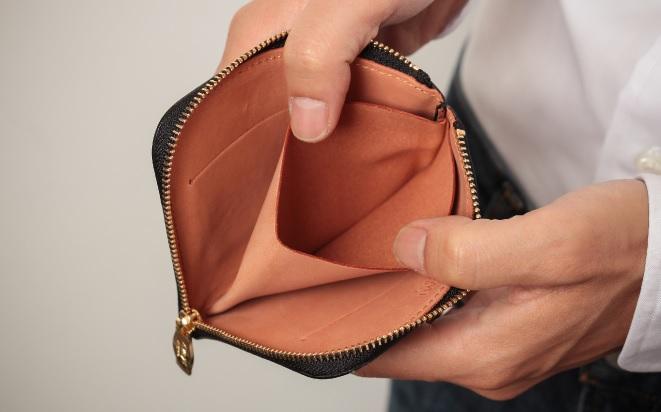 アヤメアンティーコ2つ折り財布8