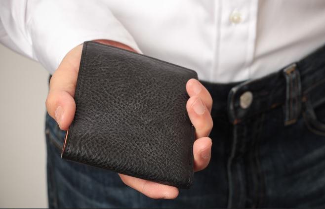 アヤメアンティーコ2つ折り財布6